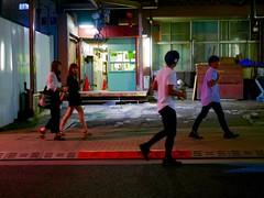 Friday_1250884 (strange_hair) Tags: girls gal boys night street tokyo japan roppongi walk