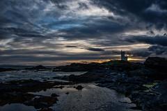 Elie lighthouse (gallowaydavid) Tags: elie lighthouse fife sunset clouds