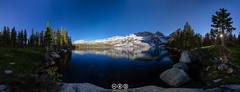 Lower Young Lake Panorama (au_ears) Tags: california highcountry trees loweryounglake tuolumnemeadows raggedpeak 2016 whitemtn panorama yosemite younglakes