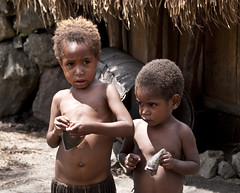 Dani children (stefano barz) Tags: danipoole nuovaguinea papua tribal trib