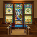 Stained Glass Window at Roswell's United Methodist Church (old sanctuary)