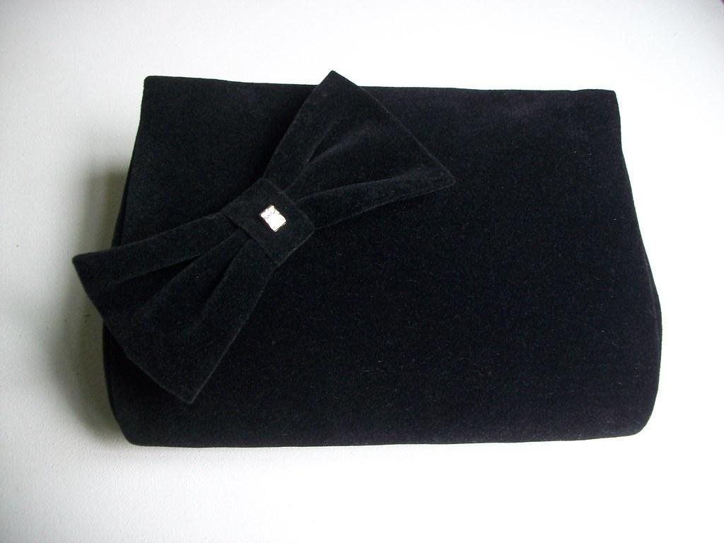 1b157371f4 Bolsa Clutch Veludo Preto (cristina cordeiro) Tags  b arte artesanato clutch  bolsa bolsas