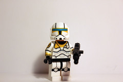 Custom Clone Commando Gregor (No Tally Marks) (JPO97Studios) Tags: season star lego 5 rifle wars custom clone decals gregor commando blaster dc17