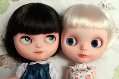 """You have blue eyes like me!"""