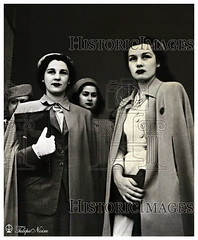 Princesses Fawzia & Faiza During a Visit to an Egyptian Hospital - Cairo On June 6, 1947 (Tulipe Noire) Tags: africa hospital princess egypt middleeast visit cairo 1940s egyptian 1947 faiza fawzia