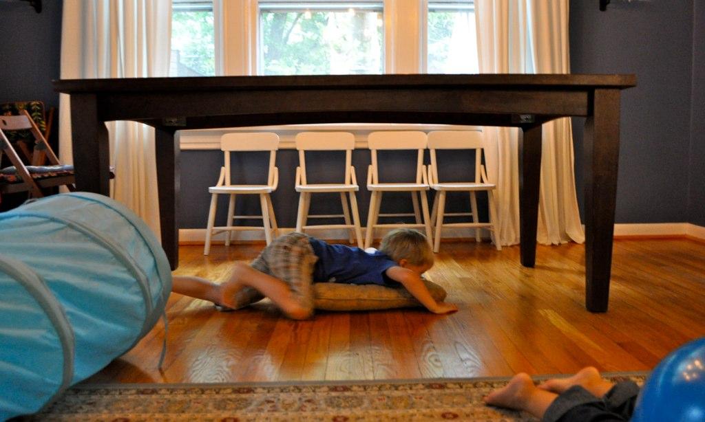 Diy Fun Indoor Obstacle Course Crumbbums