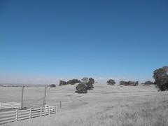 Big Sky (DanielSchow) Tags: california ranch blue sky white black color big hills splash plain accent amador