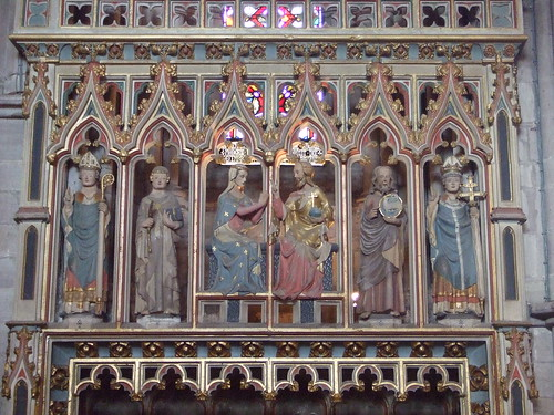 Mary, Jesus & Saints, Hereford Cathedral