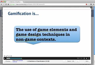 Gamification is the use of game elements and g...