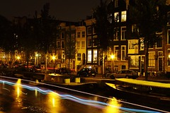 Amsterdam, Long exposure , Singel (Van_Loon) Tags: longexposure light amsterdam night river lights boat canal stream long exposure barca ship darkness bright fiume strip streams luci riflessi notte canale lunga esposizione siegel scia luminosa lungaesposizione scie luminose brighting photographyforrecreation