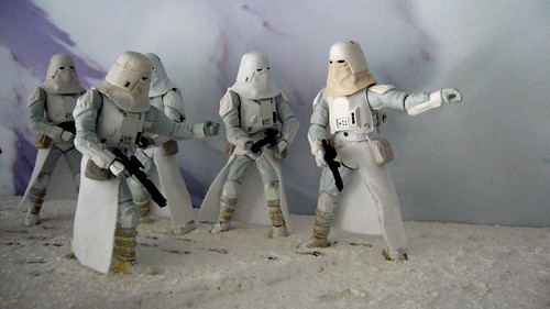 "Battle of Hoth diorama - imperial troops at close range preparing for attack • <a style=""font-size:0.8em;"" href=""http://www.flickr.com/photos/86825788@N06/7949258680/"" target=""_blank"">View on Flickr</a>"