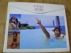 原裝絕版 1997年 1月10日 榎本加奈子 KANAKO ENOMOTO edge Special photographic ISSUE 寫真集+錄影帶 原價 4000YEN 中古品 9