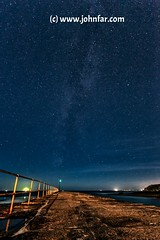 Starry Night (John Farnan Photography) Tags: sea england southwest stars pier seaside still cornwall nightsky milkyway lateatnight darknights porthleven southwestcoastalpath southwestengland Astrometrydotnet:status=failed cornishviews porthlevenpier dakrnights Astrometrydotnet:id=alpha20120905643361
