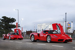 Enzo Weather. (Alex Penfold) Tags: auto camera cars alex sports up car sport mobile canon photography eos photo cool flickr day doors image awesome flash picture super ferrari spot racing exotic photograph silverstone enzo 111 spotted hyper supercar spotting exotica sportscar 2012 sportscars supercars penfold spotter enz hypercar 60d hypercars alexpenfold enz111