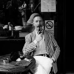 A Gentleman in Soho (Ian Brumpton) Tags: street portrait bw blancoynegro blackwhite noiretblanc soho streetphotography streetlife londres citystreets sidewalkstories londonstreetphotography scattidistrada ianbrumpton blackwhiteheartbeats londonatlarge averyenglishgentleman