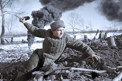 Soviet soldier - Battle for Stalingrad 1942 (Za Rodinu) Tags: world 2 man men history vintage soldier war gun russia military rifle rifles front german weapon ww2 soldiers historical guns 1942 1945 rare troops 1944 1943