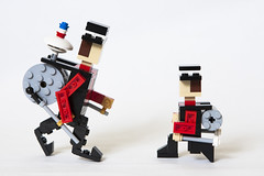 101 (Brickolaje) Tags: chile urban lego performer chinchinero
