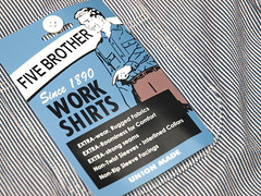 Five Brother / Hickory-Stripe L/S Work Shirt (yymkw) Tags: shirt work ls hickorystripe fivebrother