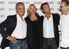 Vannis Marchi, Kate Moss and Marco Marchi At the photocall for Italian fashion label Liu Jo during Milan Fashion Week Milan, Italy