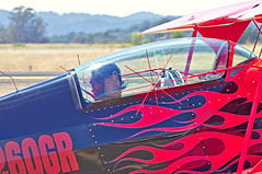 Spencer Suderman - METEOR Pitts Biplane (cclark395) Tags: california usa airplane airport pentax aircraft airshow santarosa biplane k5 aerobatics sts pitts pittsspecial charlesmschulz s2b ksts sonomacountyairport 60250mm spencersuderman n260gr smcpentaxda60250mmf4ifsdm charlesmschulzsonomacountyairportsts wingsoverwinecountryairshow2012