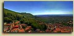 ~ A View from My Balcony ~ (stephgum32807) Tags: italy panorama 1 italia kodachrome marino lazio photomix castelgandolfo lakealbano imageourtime creativephotocafe casteldiroma