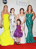 Julie Bowen, Ariel Winter, Sarah Hyland, Sofi�a Vergara, Sarah Hyland, Aubrey Anderson-Emmons 64th Annual Primetime Emmy Awards, held at Nokia Theatre L.A. Live