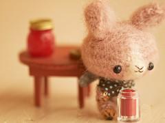 jar of jam ** (Vega Punk) Tags: cute bunny jam amigurumi husa