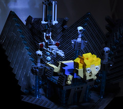 Ummmm.... Yeah. (Si-MOCs) Tags: lego alien anal probe abduction ironbuilder