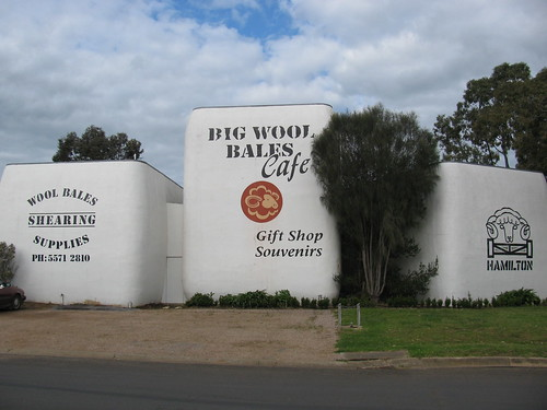 The Big Wool Bales, Hamilton
