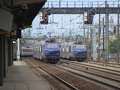 SNCF Transilien 27342 & 27363 (Will Swain) Tags: paris station sncf clichy ter levallois transilien 27342 27363 williamsdigitalcamerapics42