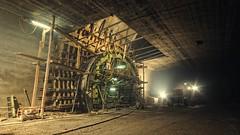 Pfändertunnel Querschlag (Gerald Ramsbacher) Tags: concrete construction nikon sigma bregenz 1020 vorarlberg schalung inthetunnel pfändertunnel d300s querschlag