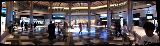 Inside the renewed Tokyo station