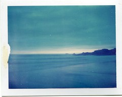 (Matt Chalky Smith) Tags: sunset sky beach polaroid cornwall constantine expired 108 340 expired1999