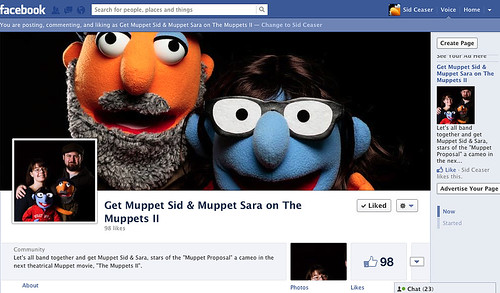 "Get Muppet Sid & Muppet Sara on ""The Muppets II"""