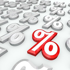 Percent Symbols - Best Percentage Growth or In...