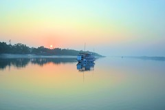 Sundarbans [Explored] (pallab seth) Tags: sunrise river landscape dawn delta bengal sundarbans