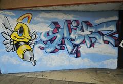 Stinger 2 (Coedy453) Tags: street urban art wall graffiti nikon paint sting spray bee aerosol stinger hinckley d300s