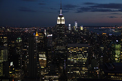 Nothing really matters (orchideus) Tags: newyork building skyline night state manhattan empire rockefeller topoftherock