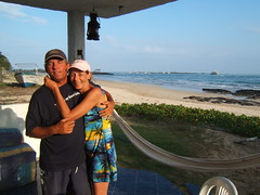 "My wife and I enjoying some down time while on Delivery/Captain services in the Galapagos Islands. • <a style=""font-size:0.8em;"" href=""http://www.flickr.com/photos/69210373@N08/8039480069/"" target=""_blank"">View on Flickr</a>"
