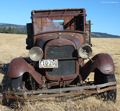 Eastern Oregon - Ford - Truck (Electric Crayon) Tags: old usa ford oregon truck rust decay pacificnorthwest unioncounty oldwest patrickmcmanus electriccrayon