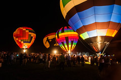 Colorado Balloon Classic at night (J. Paxon Reyes) Tags: hot colorado glow unitedstates air balloon springs cbc coloradosprings co hotairballoon glo coloradoballoonclassic