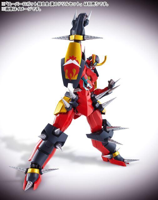 SuperRobot超合金 天元突破 Gurren Lagann
