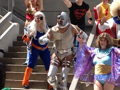 Teen Titans Photo Shoot (TheGeekForge) Tags: robin jericho cyborg tempest terra superboy teentitans kole beastboy wondergirl kidflash aqualad ravager dragoncon2012