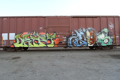 Nas Drift (all_nation7) Tags: graffiti boxcar nas nme freighttrain allnation nasgraffiti nasfreights nasnme allnationteam nasallnation