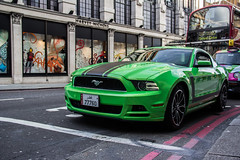 Ford mustang boss 302 GT (Benoit cars) Tags: boss green london cars ford car canon photography flickr awesome super spot exotic spotted mustang gt expensive supercar spotting sportscar 2012 sportscars supercars streetcars d600 worldcars hypercars worldofcars