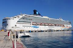 Norwegian Spirit (dbcnwa) Tags: cruise port mexico harbor pier dock ship spirit cruising vessel norwegian cruiseship cozumel docked ncl norwegianspirit norwegiancruiseline