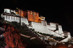 The Potala Palace at night Oct-Explore by Oasis1213, on Flickr