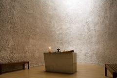 Le Corbusier, Notre-Dame-du-Haut, Ronchamp, France, 1950-55; interior (rpa2101) Tags: france church architecture concert slide lecorbusier copy modernarchitecture ronchamp beton notredameduhaut postwararchitecture