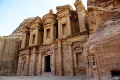 The Monastery, Petra, Jordan (Peter Rivera) Tags: travel history stone landscape ancient nikon ruins petra east jordan explore middle wonders archeaology d700