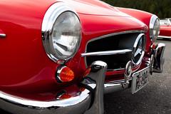Old Red Car (Stavelin) Tags: red beautiful car star mercedes bil stavelin canonef24105mmf4lisusm bildekritikk roarstavelin canoneos5dmkii nofk